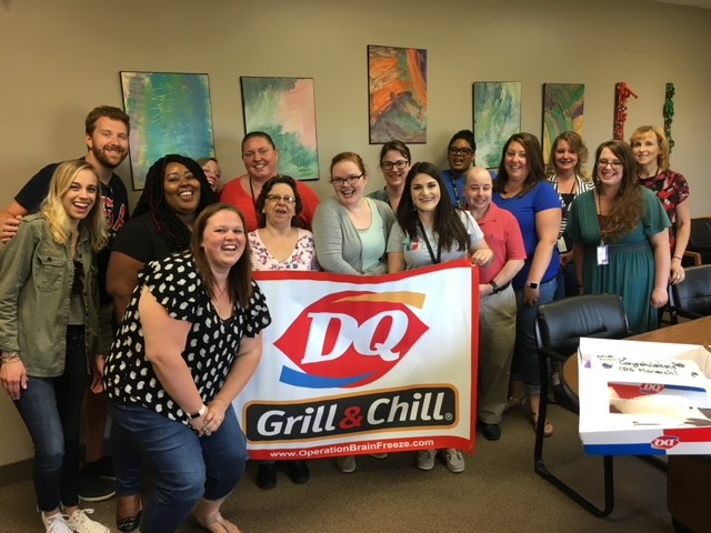 Treat Yo Self At Work with Dairy Queen Grill & Chill and TeamP